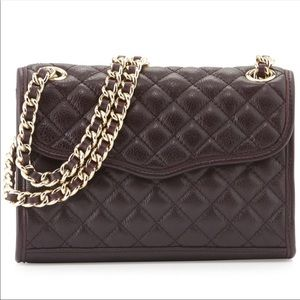 Rebecca Minkoff Large Quilted Affair Purple Purse